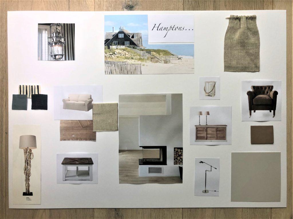 Einrichtungsstil-moodboard Wohnzimmer